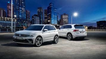 VW Tiguan Rooftop Car Park