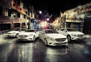 Mercedes GLA Range